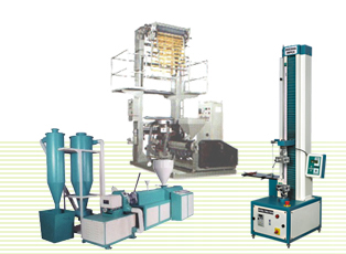 Plastic Testing Equipments, Plastics Extrusion Machinery as Tensile Testing Machine, Hydrostatic Pressure Testing Machine in India.